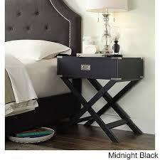 X Base Side Table Accent End Table Nightstand Side X Base Bedside Stand Wood