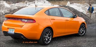 orange dodge dart 2013 test drive 2013 dodge dart compact car turbo with ddct automatic