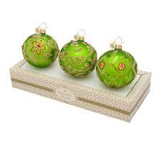 radko ornaments 2016 christopher radko green w gold boxed