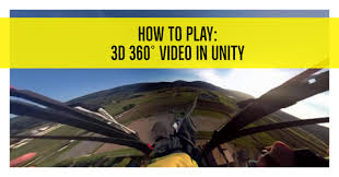 3 D Video How To Play Stereoscopic 3d 360 Video In Vr With Unity3d Unity3d