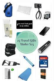 25 travel gifts under 25