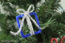 craft cottage sparkly pipe cleaner ornaments