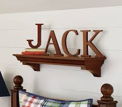 Barn Wood Letters Large Wooden Letters Pottery Barn Kids