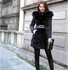 sale new fashion winter outerwear female slim luxury coats