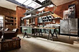 loft kitchen ideas awesome industrial kitchen ideas
