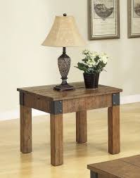 diy rustic side tables designs beautiful rustic side tables