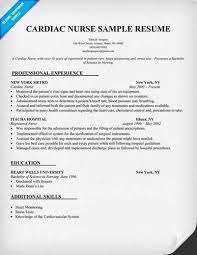 Telemetry Nurse Resume Sample by Tips For Writing An Effective Nurse Resume Are Described Below
