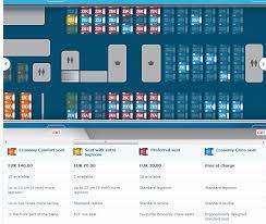 Klm Economy Comfort Klm Introduces Preferred Seats Flyertalk Forums