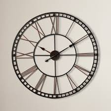 trendy oversized metal wall clock 129 oversized metal wall clock