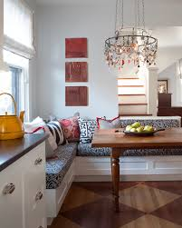 Kitchens With Banquette Seating Bench Excellent Corner Banquette New York With For Popular