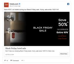 black friday ads target 205 55 facebook ads that get the holiday advertising right