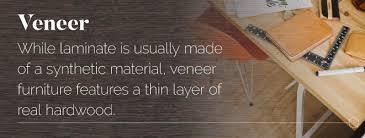 how to wood veneer furniture laminate veneer and solid wood furniture what s the