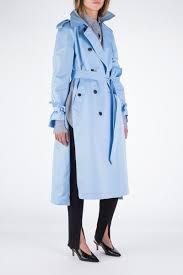 light blue trench coat pop coat light blue f r e n k e n