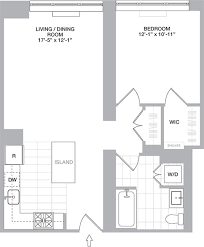 floor plans sample floor plans of the one apartment jersey city