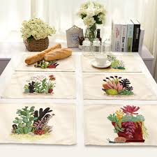 Dining Room Table Placemats by Online Get Cheap Kitchen Table Placemats Aliexpress Com Alibaba