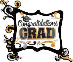 34 inch congratulations grad silver and gold frame foil balloon