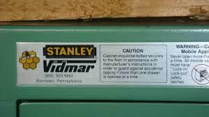 Modular Drawer Cabinet Stanley Vidmar Cabinets Parts Roselawnlutheran