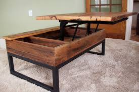 Barn Board Coffee Table Classic Mission Rectangular Coffee Table With Lift Top From