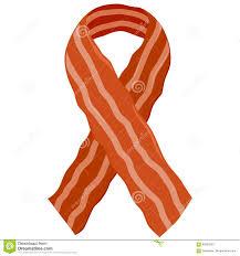 bacon ribbon bacon ribbon stock vector image 82393303