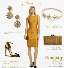 dress for the wedding guest golden look by dress for the wedding aisle