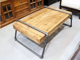 Pipe Coffee Table by Custom Wood Coffee Table Descargas Mundiales Com