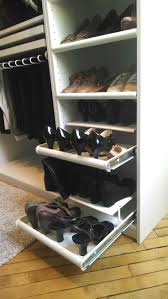 closet organizer with pull out shoe rack roselawnlutheran