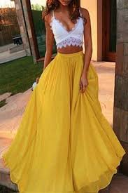flowy maxi skirts best 25 yellow skirts ideas on bow skirt yellow