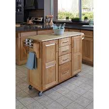 oak kitchen island cart solid wood top kitchen island cart nucleus home