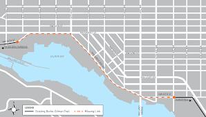 burke gilman trail missing link project transportation seattle gov map