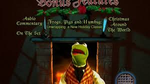the muppet carol special features menu 2002 region 1