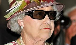 Queen Elizabeth II Blings in
