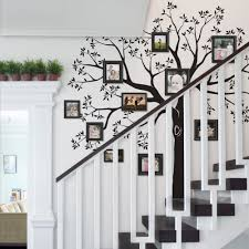 staircase family tree wall decal tree wall decal organic