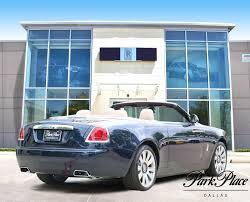 rolls royce sports car 2017 midnight sapphire rolls royce dawn 6 6l for sale park place