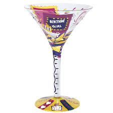 martini glass birthday martini glass at flamingo gifts