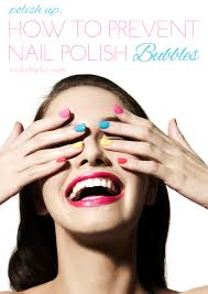 polish up how to prevent nail polish bubbles michelle phan