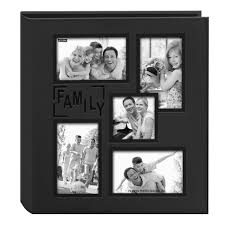 photography albums pioneer collage frame embossed baby sewn leatherette