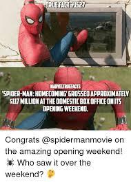 The Amazing Spiderman Memes - true fact 1527 true fact 1527 marveltruefacts spider