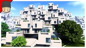 apartment building design minecraft crazy apartment complex habitat 67 montreal youtube