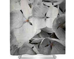 Hydrangea Bathroom Accessories by Bath Curtain Etsy