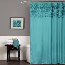 Turquoise Shower Curtains Lillian Shower Curtain Lush Decor Www Lushdecor
