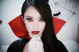 halloween makeup cute cute vampire makeup business card size net