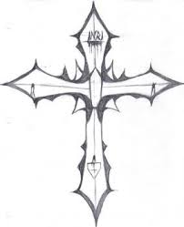 easy cross designs to draw more information