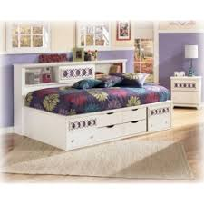 Trundle Bed With Bookcase Headboard Trundle Twin Bed Donco Kids Twin Mission Captains Trundle Bed With