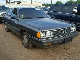 audi 5000 for sale auto auction ended on vin waufb0444en017103 1984 audi 5000 s cus