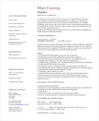 dental resume exles dentist resume sle dental assistant template exles and buckey us
