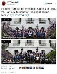 Top House 2017 Fact Check More New England Patriots Players Attended White House