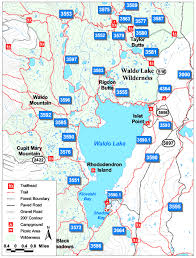 map of hwy 58 oregon willamette national forest waldo lake area