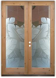 Exterior Entry Doors With Glass Entry Doors Sans Soucie Glass