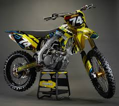 motocross bike security fox racing custom rm z450 giveaway contest