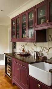 oak kitchen cabinets with glass doors glass front cabinets popular choices town country living
